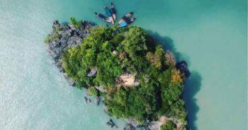 เกาะตำนานหลวงปู่ทวดเยียบน้ำทะเลจืด